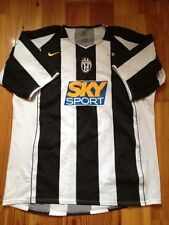 4.8/5 JUVENTUS  2004 2005  ORIGINAL FOOTBALL SHIRT JERSEY HOME NIKE era NEDVED