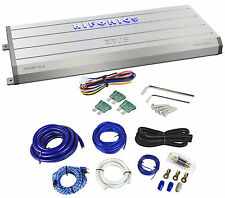 Hifonics Zeus ZRX2016.4 2000 Watt 4-Channel A/B Car Audio Amplifier+Amp Kit