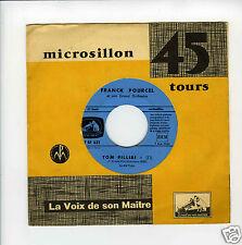 45 RPM FRANCK POURCEL TOM PILLIBI  / CE SOIR LA (EUROVISION 1960)