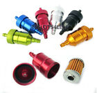 MOTORIZED BICYCLE PERFORMANCE FUEL FILTER FOR NT AND SPEED CARBURETOR
