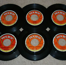 """* * 6 JOE HINTON VG+/M- 45s! CHARTED """"FUNNY/1000 CUPS/YOU KNOW IT AIN'T RIGHT""""+3"""