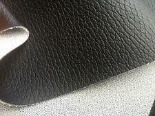 TOP AUTO Kunstleder SCHWARZ grob wie echt Leder sehr dehnbar 160cm breit, 1000gr