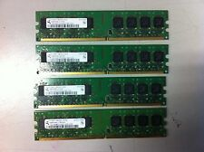 4x1GB 4GB DDR2 Storage 667 Mhz RAM PC2-5300U 240 pin DIMM Non-ECC