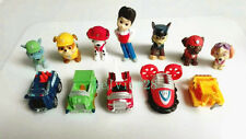 12pcs Paw Patrol Rubble marshall Chase Rocky Skye Zuma Ryder with Car Doll Toy