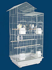New Large Tall Canary Parakeet Cockatiel LoveBird Finch Bird Cage 287