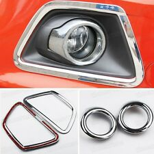 4 x Chrome Front Fog Lamp Light Cover Trim Molding for Ford Ecosport 2013 2014