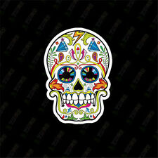10pcs Skull Sticker Bomb Decal Vinyl Roll Car Skate Skateboard Laptop W