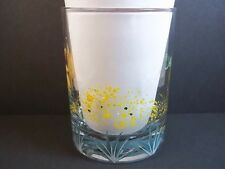 Agavero Tequila rocks glass Hand Painted Debbie Arbizanni Limited Edition 12 oz