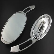 Custom Chrome Mirrors Fit Harley Softail/Fat Boy/Big Dog/Titan/Iron Horse/Ultra