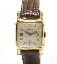Vintage Benrus Rolled Gold Tank Wrist Watch Swiss Movement