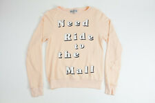 NWT Wildfox Couture Need Ride to the Mall beach baggy jumper Size XS