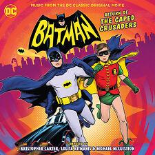 BATMAN: RETURN OF THE CAPED CRUSADERS La-La Land CD Set SOUNDTRACK Score NEW