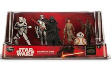 NEW Disney Store Star Wars The Force Awakens Play Set 6 Figures