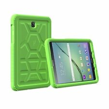 Poetic Turtle Skin Corner/Bumper Silicone Case For Galaxy Tab A 8.0 Green