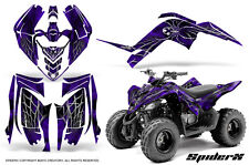 YAMAHA RAPTOR 90 2009-2015 GRAPHICS KIT CREATORX DECALS STICKERS SPIDERX PR