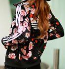 Adidas Originals Firebird ROSE Flower Print Track Top Jacket Womens