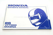 New Owners Manual 1986 VF700 VF700C V45 Magna OEM Honda Operators Book      #q74