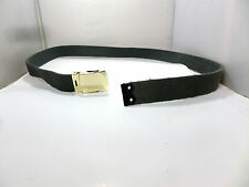RAF ISSUE BRASS LOCKING BUCKLE 1 1/4 INCH TROUSER BELT
