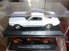 VOITURE FORD MUSTANG SHELBY 350 GT DREAM CARS DE AGOSTINI 1/43 EME NEUF