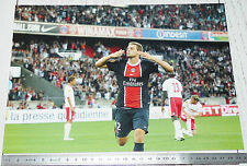 PHOTO 29.5 X 21 PARIS SAINT-GERMAIN PSG MATHIEU BODMER FOOTBALL 2011-2012