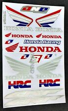 1 x New Racing Decal Sticker Honda CRF HRC Car Motocross Motorcycle Bike G03