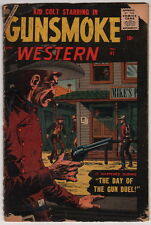 Dick Giordano Pedigree Collection Copy Kid Colt Gunsmoke Western #41 1957 MARVEL