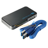 USB 3.0 ALL IN ONE MEMORY CARD READER FOR CF MICRO SD SDHC M2 XD MS MMC 5Gbps