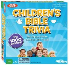 Ideal Children's Bible Trivia Game, New, Free Shipping