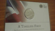 (999 Silver) Royal Mint 2013 A Timeless 1st £20 Pound Coin george & the dragon .
