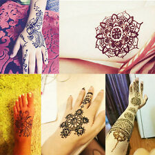 25g Temporary Tattoo kit Herbal Natural Henna Cones Body Paint Ink Art