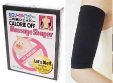 Fat Buster Calorie Off Slimming ARM SHAPER -BLACK-New
