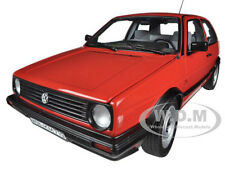 1984 VOLKSWAGEN GOLF II CL RED 1/18 DIECAST CAR MODEL BY NOREV 188414