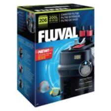 Fluval 206 esterno acquario filtro in plastica ACQUARIO FILTRAZIONE PULIZIA ANIMALI DOMESTICI