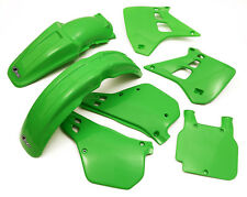 UFO Kawasaki Motocross EVO KX 125 1990 - 1991 Plastic Kit OEM colours Green