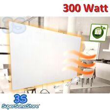 3S PIASTRA PANELLO RISCALDANTE CALORIFERO ELETTRICO A RAGGI INFRAROSSI 300 Watt
