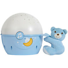 Chicco Next 2 Stars Projector Baby Night Light and Soothing Music - Blue - NEW