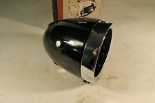 NOS CEV HEAD LIGHT SHELL BUCKET RIM MOTORCYCLE MINI BIKE MOPED NEW NIB