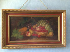 "T WILSON 19TH CENTURY ARTIST ""STILL LIFE FRUIT"""