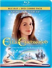 ELLA ENCHANTED New Sealed Blu-Ray + DVD Anne Hathaway