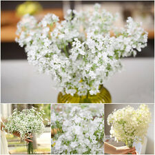 2X Beauty Gypsophila Floral Man-made Silk Flower Plant Party Wedding Home Decors