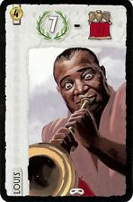 7 Wonders Promo Louis Armstrong Leader Card New Promo