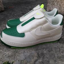 NIKE AIR FORCE 1 LOW CMFT GP SZ 10 GARY PAYTON WHITE GREEN GLOVE 616760-300