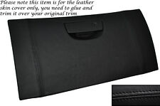 BLACK STITCH GLOVE BOX LID LEATHER SKIN COVER FITS CHRYSLER 300C CRD 2006-2011