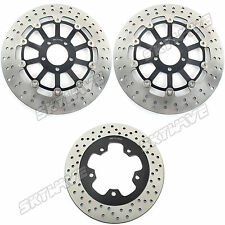 96 97 98 99 00 01 02 03 04 05 06 Front Rear Brake Rotor Disc ZRX 1100 / 1200 R S