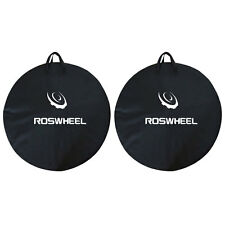 2x1PCS ROSWHEEL Bike Travel Wheel Bag Cycle Bicycle Box Case Luggage Black