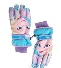 Disney Thinsulate Isolant Frozen Elsa Ski Gloves - Girls One Size Fits Most Girl