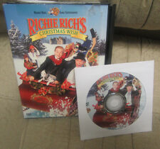 Richie Rich's Christmas Wish (DVD, 2002)  FREE FIRST CLASS SHIP,  CHECK DETAILS