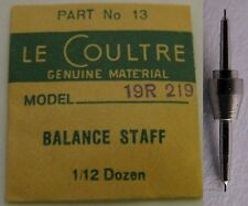 Le Coultre clock caliber 19R 219 staff balance #723