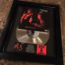 Tupac Shakur 2Pac Platinum Record Disc Album Music Award Grammy RIAA