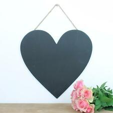 Heart Chalk Board Love Blackboard Kitchen Chalkboard Memo Family Notes